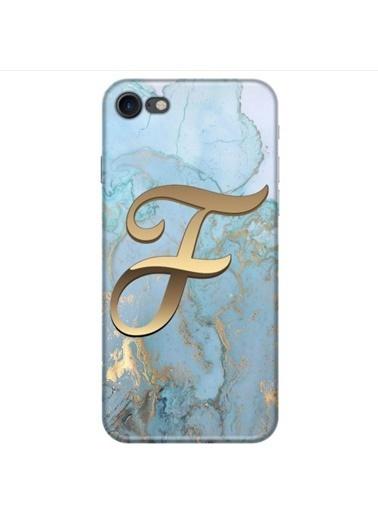 People's Cover iPhone 8 Baskılı Harfli Telefon Kılıfı Renkli